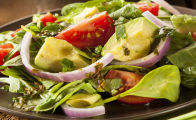 Avocado and Lettuce Salad