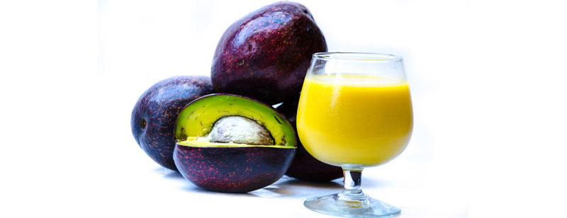 Avocado and Peach Smoothie
