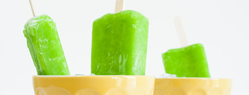 Sweet Avocado Ice Pops