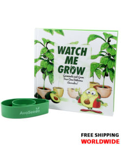 Watch me Grow AvoSeedo Book Set - Grow your own Avocado Tree!