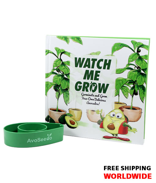 Watch me Grow AvoSeedo Book Set – Grow your own Avocado Tree!