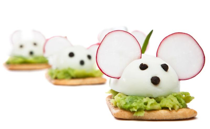 Avocado Radish Mouse