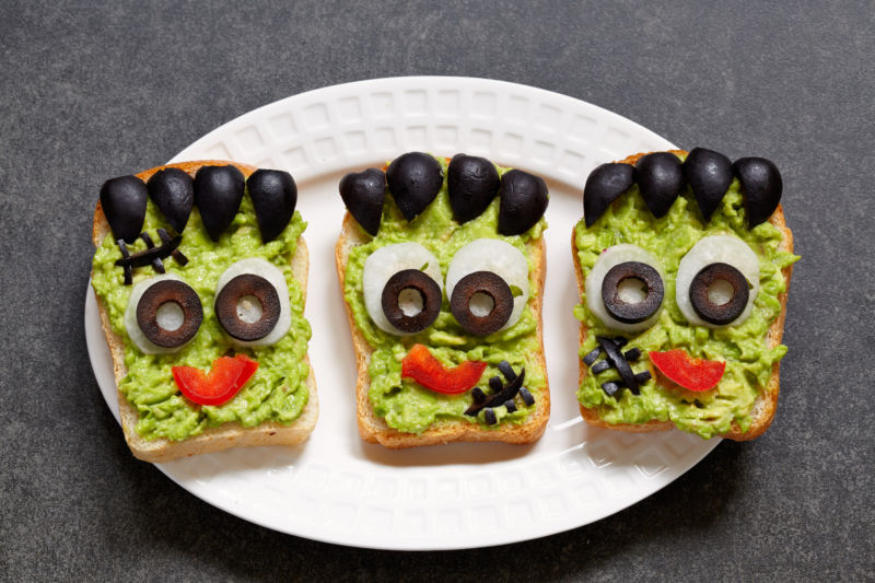 Avocado Halloween