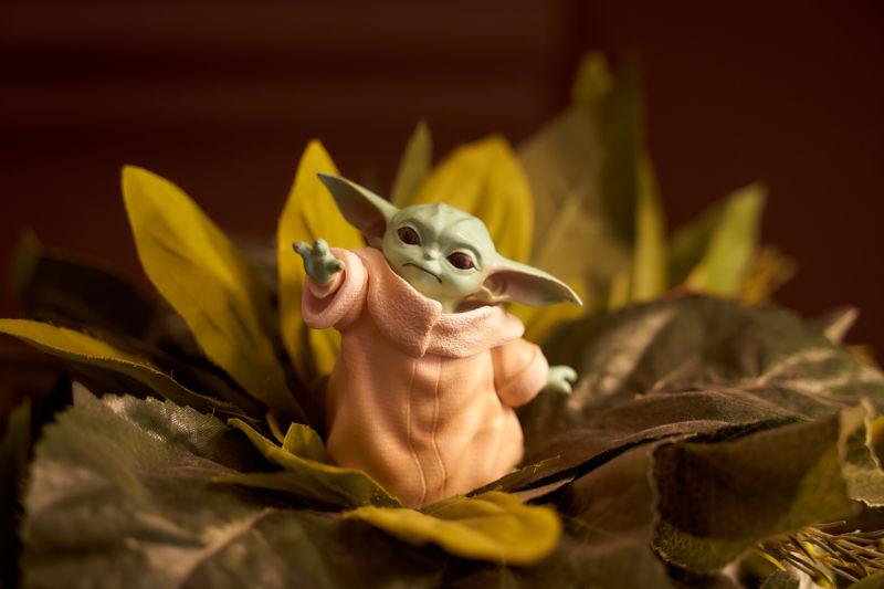 Baby Yoda Deviled Eggs